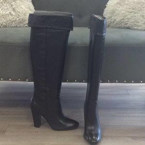 New paisley shoemint knee boot